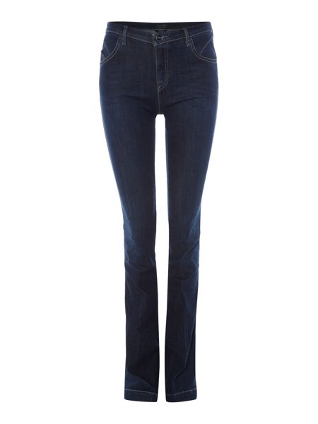 Armani Jeans J07 slim bootcut jean in dark wash