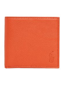 Polo Ralph Lauren Pebble leather billfold wallet