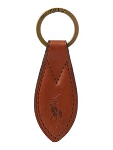 Polo Ralph Lauren Leather key fob