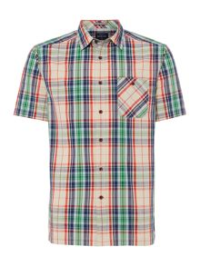 Howick Bangalore Check Short Sleeve Shirt