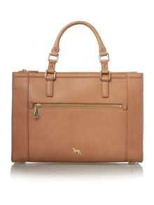 Lamb 1887 Hampton tan medium tote bag