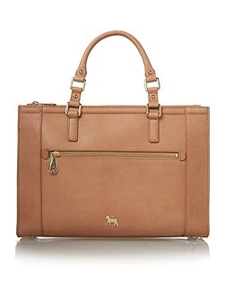 Hampton tan medium tote bag