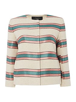 Burano long sleeve stripe jacket