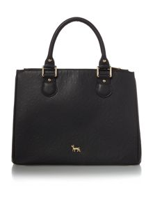 Lamb 1887 Joanna black medium tote bag