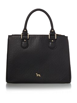 Joanna black medium tote bag