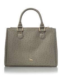 Joanna grey medium tote bag