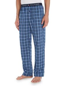 Icon woven check pyjama trouser