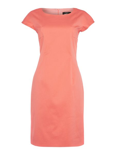 Max Mara Epopea cap sleeve fitted dress