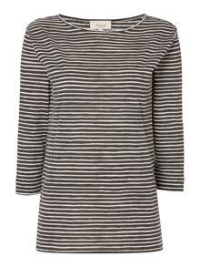 Linea Weekend Classic ls stripe top
