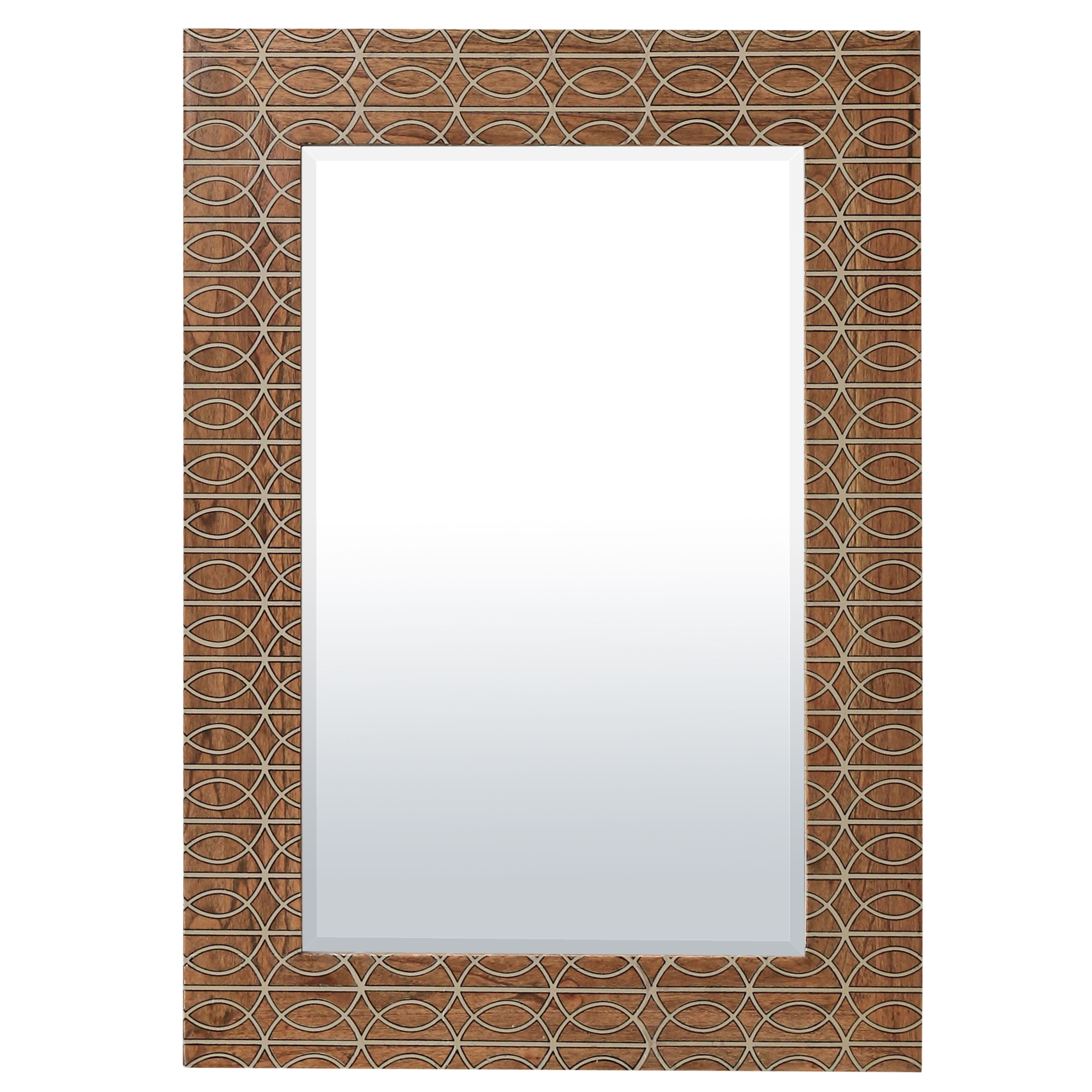 Wood mirror house of fraser for Mirror 60 x 90