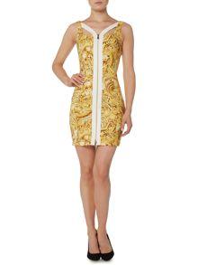 Versace Jeans Iconic versace print dress