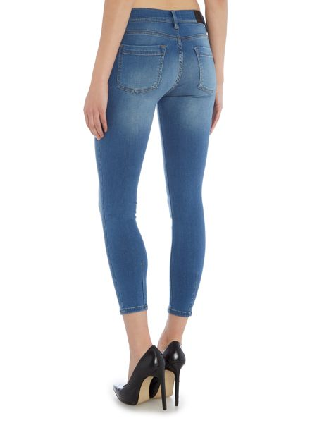 Barbour International Delta skinny cropped jeans