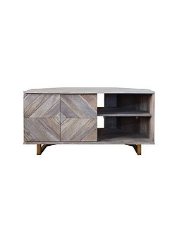 Casey corner TV unit