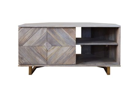 Living by Christiane Lemieux Casey corner TV unit