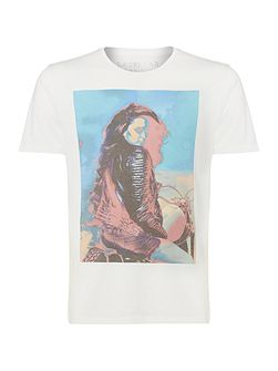 Graphic-Print Crew-Neck T-Shirt