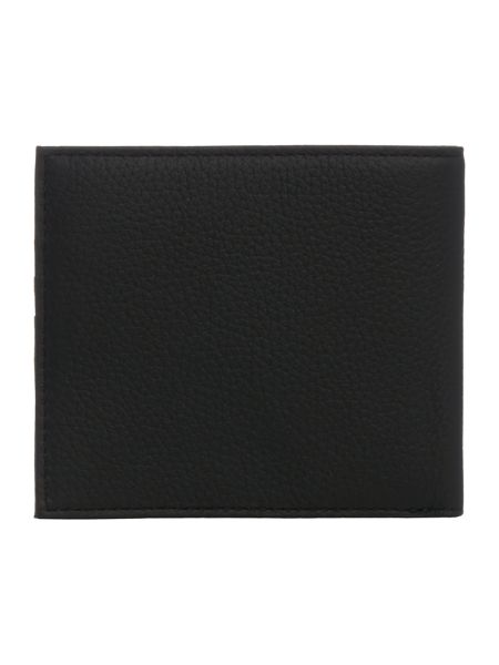 Armani Jeans Billfold leather wallet with logo