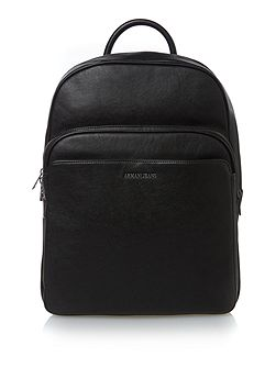 Plain armani jeans logo backpack