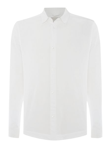 Waven Mimir slim fit hidden placket shirt