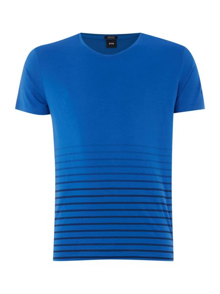 Hugo Boss Regular Fit Tiburt Bottom Stripe T Shirt