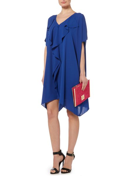 Biba Frill front square dress
