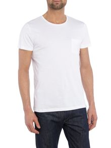 Plain Crew Neck Short Sleeve T-shirt