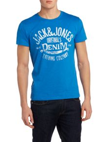 Jack & Jones Logo Short Sleeve Crew Neck T-shirt