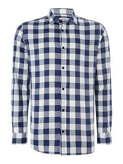 Chess Checked Long Sleeve Shirt