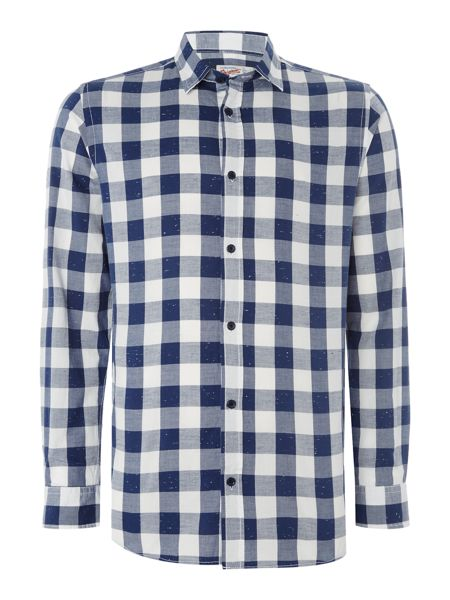 Jack & Jones Chess Checked Long Sleeve Shirt