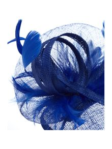 Suzanne Bettley Feather teardrop fascinator