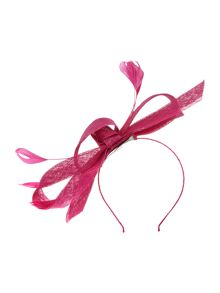 Suzanne Bettley Duck feather bow fascinator