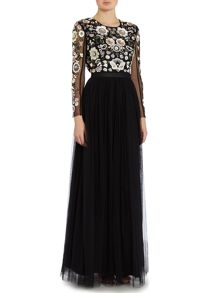 Needle and Thread Floral cluster gown