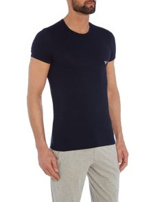 Emporio Armani Crew neck t-shirt with eagle design