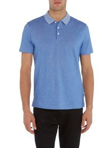 Hugo Boss Regular Fit Pack Marl Contrast Collar Polo