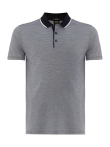 Hugo Boss Slim Fit Pitton Mercerised Fine Tip Polo