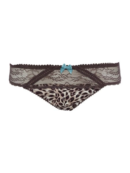 Marie Meili Curves christa lace brief