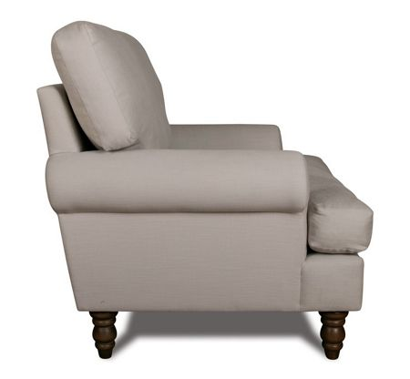 Shabby Chic Campbell armchair in rockport cloud