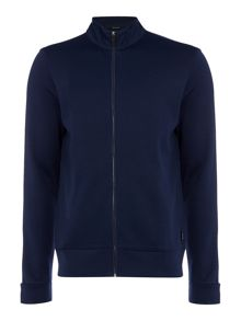 Hugo Boss Regular Fit Sommers Funnel Zip Up Jumper
