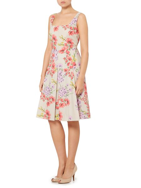 Max Mara Finish sleeveless floral shift dress