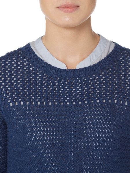 Hugo Boss Long sleeve chunky knit jumper