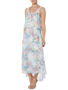Hugo Boss Sleeveless print maxi