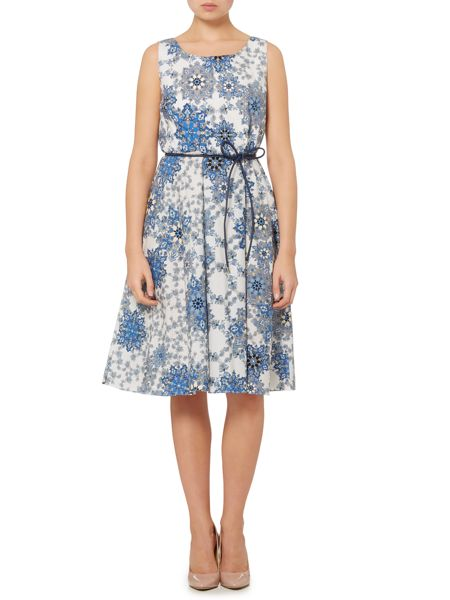 Max Mara Maresca paisley printed sleeveless dress