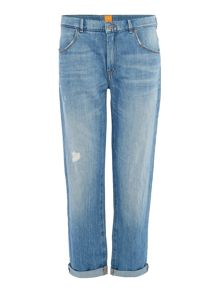 Hugo Boss Cropped boyfriend J70 jean