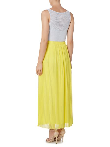 Hugo Boss Pleat maxi skirt