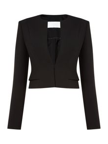 Hugo Boss Jiopela Hook Eye Crop Jacket
