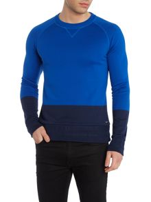 Hugo Boss Slim Fit Skubic Block Colour Sweatshirt