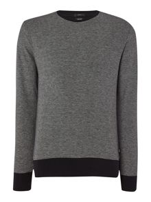 Slim Fit Skubic Textured Sweatshirt