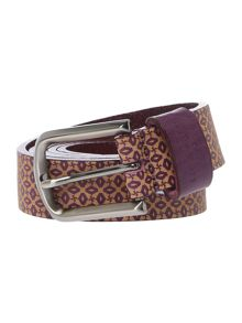 Ted Baker Geo embossed belt