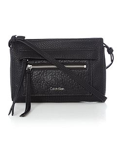 Calvin Klein Cecile black crossbody clutch bag