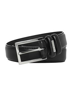 Contrast stitch formal belt