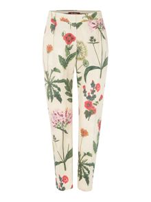 Alton floral print trousers